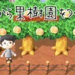 【あつ森】1から果樹園を作るよ~!#1【あつまれどうぶつの森】【実況】