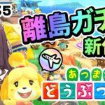 【あつ森】離島ガチャ住民厳選(時間操作なし)マイデザイン服【あつまれどうぶつの森/Animal Crossing New Horizons】#35 Vtuber女性ゲーム実況Live