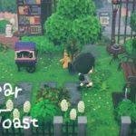 【あつ森】自然を感じながら読書が楽しめる休憩所を作りました【あつまれどうぶつの森】【実況】
