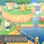 【あつ森】自然溢れる島が完成したのでおまねき会【あつまれどうぶつの森】