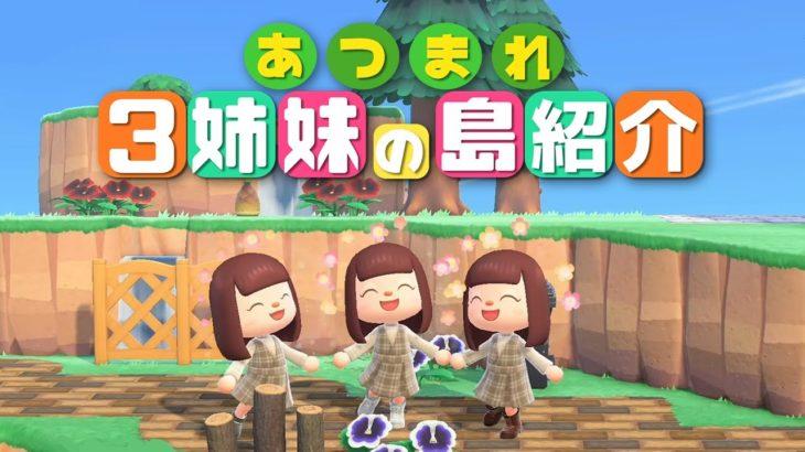 【あつ森】三姉妹の島紹介します!