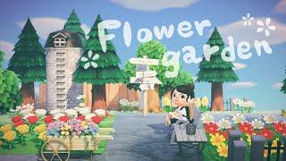 【あつ森】シュガートース島にお花畑を作りました【島整備】【あつまれどうぶつの森】【実況】