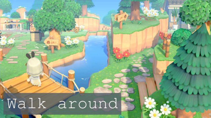 【あつ森】自然溢れる島での生活。【島紹介(一部)】
