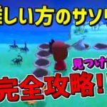 【あつ森】難しい方のサソリ島!!完全攻略方法を見つけた!!
