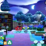 【あつ森】自然あふれる図書館を作ってみた。時間操作をしない街作り!【あつまれ どうぶつの森】
