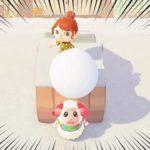 【あつ森】『さよなら』巨大な雪玉を落とされるちゃちゃまるを実況する【あつまれどうぶつの森】【どう森】【アナウンサー】【ゲーム実況】