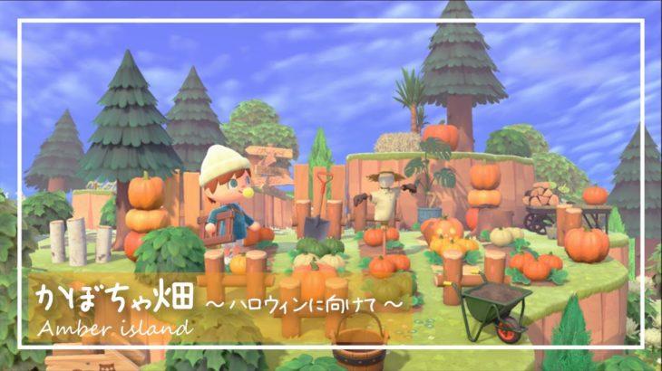 【あつ森】ハロウィンに向けて島クリエイターでカボチャ畑を作ってみた!【あつまれどうぶつの森】【レイアウト】【島クリエイト】