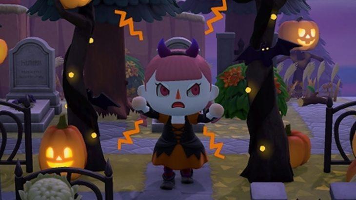 【あつまれどうぶつの森】ハロウィンレシピコンプとイベント!【あつ森】