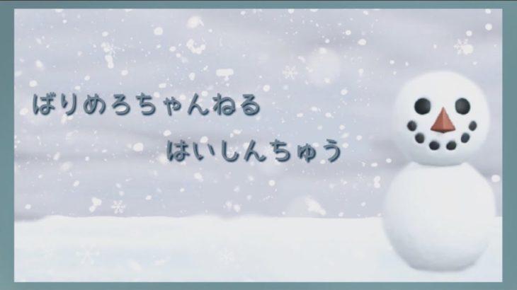 【あつ森配信】雪が映える島づくり!ケンタの家周りをつくる!!→島訪問も!【あつまれどうぶつの森/ACNH】