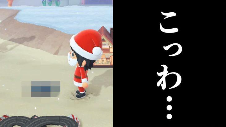 【あつ森】住民からの「クリスマスプレゼント」が怖すぎてゾッとした