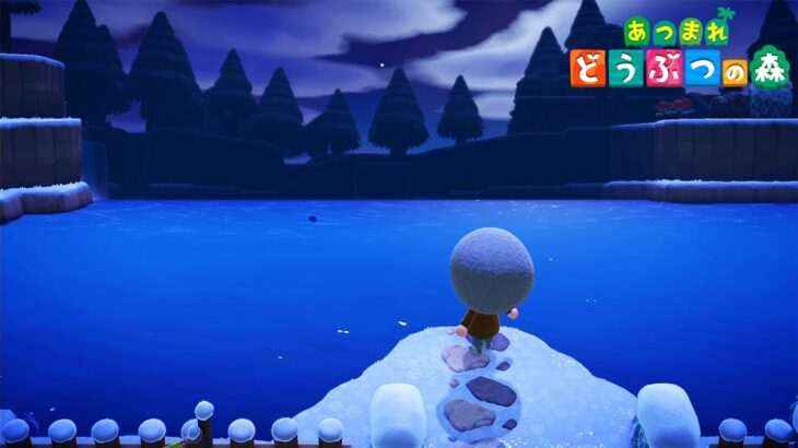 【あつ森】神秘的な湖が凄すぎる!圧倒的な島クリで見る人全員を魅了する島【あつまれ どうぶつの森】【ぽんすけ】
