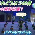 【あつ森】プレゼント開封の儀!うしとカエルのあつまれどうぶつの森【生放送】