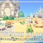 【あつ森】#20 ナチュラルな雰囲気で大人可愛い浜辺を島クリエイト / DONGURI ISLAND DIARY
