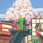 (あつ森)あと3日で桜散っちゃう!桜を堪能しまくるぞ!#247(あつまれどうぶつの森)