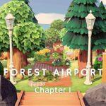 【あつ森】森の飛行場|Forest Airport【Case3:Flowery Spring-Bright Summer|島クリエイター】
