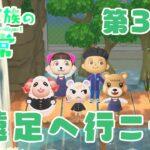 【あつ森アニメ】パンダ家族の日常#33「遠足へ行こう」