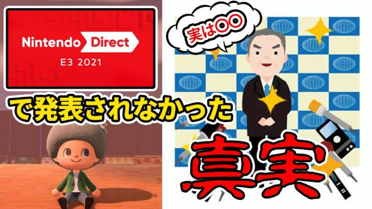 【あつ森】え?アプデ来る!! 任天堂E3で明かされなかったアップデート情報に関して【あつまれ どうぶつの森】【ぽんすけ】