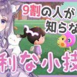 【あつ森】9割の人が知らない!?あつ森でも他のゲームでも使える便利な小技を発見…!【あつまれどうぶつの森/Animal Crossing】【実況/くるみ】