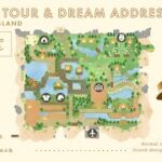 【あつ森】歩きやすさと開放感にこだわったCharlotte島のお散歩と夢番地公開:ISLAND TOUR and DREAM ADDRESS【島紹介】