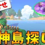 【あつ森】ゆめみのおまかせ機能使って神島探し! #36【あつまれ どうぶつの森】【ぽんすけ】