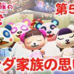 【あつ森アニメ】パンダ家族の日常#50「パンダ家族の思い出」