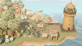 【あつ森】島紹介 可愛い自然島を作りたい方は是非見て下さい【あつまれどうぶつの森】夢訪問