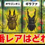 【あつ森】出現確率は驚きの『●●%』!! レアな虫たちがどれぐらい出るのか徹底検証!【あつまれ どうぶつの森】【ぽんすけ】