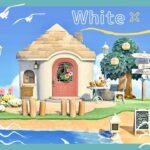 【あつ森】岬のさわやかなブーケの家【マイデザなしの島クリエイト】