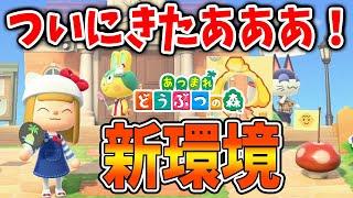 【あつ森】ついに新環境きたああああああああああああああああ!【あつまれどうぶつの森/Animal Crossing】